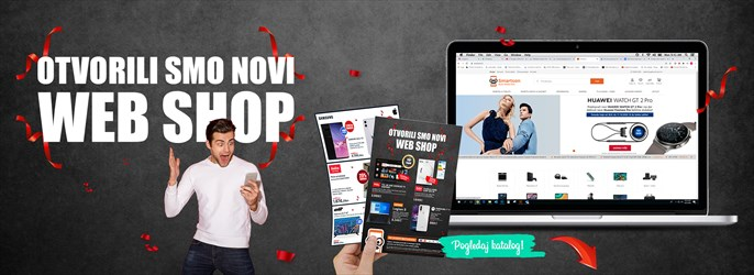 Otvorenje novog webshopa - katalog