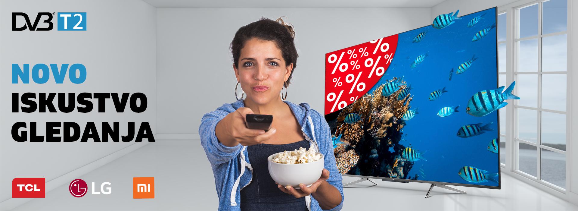 Spremni za novi signal? Iskoristite do 36% popusta na nove televizore!