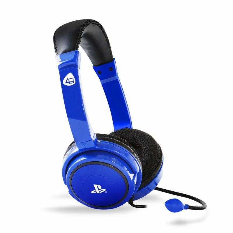 Gaming slušalice 4GAMERS PS4 STEREO PRO4-40, plave