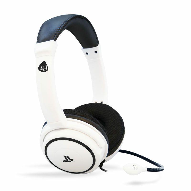 Gaming slušalice 4GAMERS PS4 STEREO PRO4-40, bijele