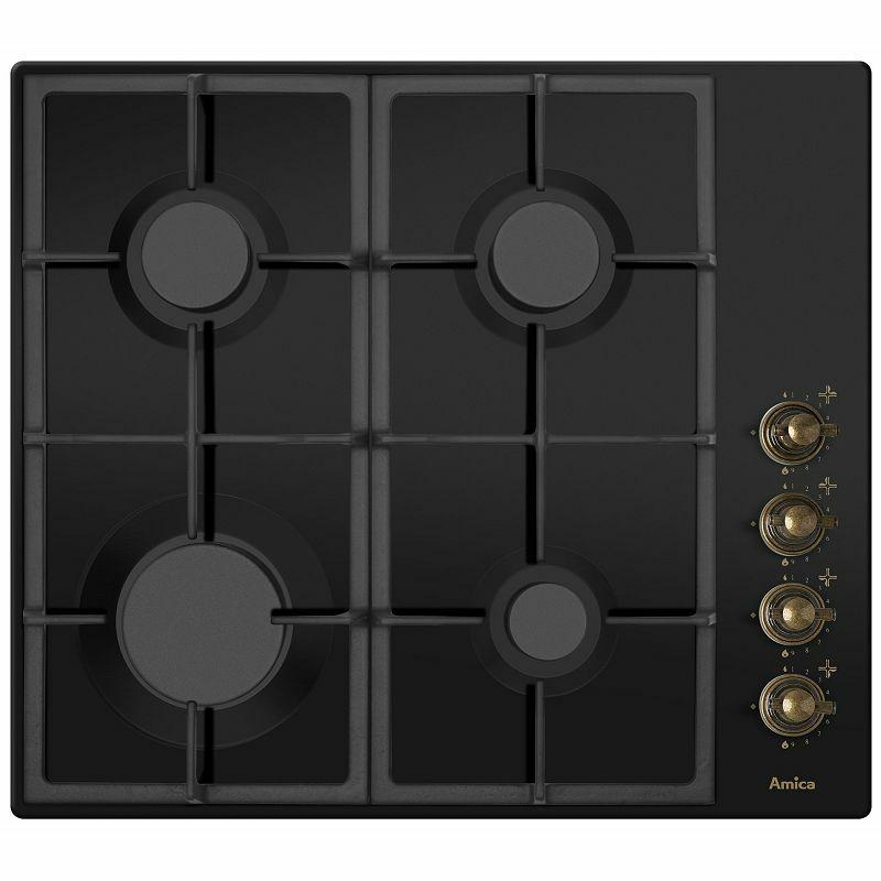 Amica ploča za kuhanje Retro crna DRP 6411 ZBB (outlet uređaj)