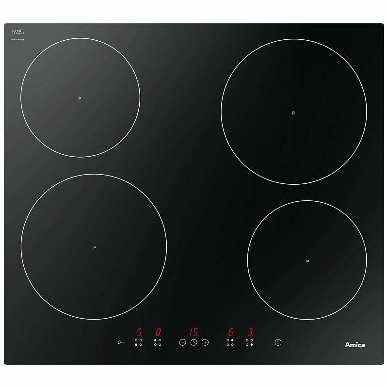 Amica ugradbena ploča indukcija HI 6140 / DI 6401B(outlet uređaj)