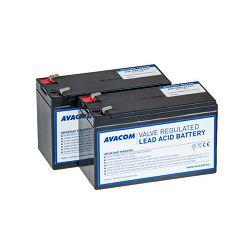 Avacom komplet baterija za APC RBC32, 2 kom.