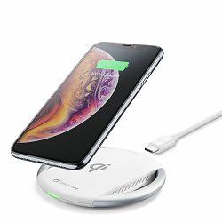 Bežični punjač Fast MFI bijeli Cellularline