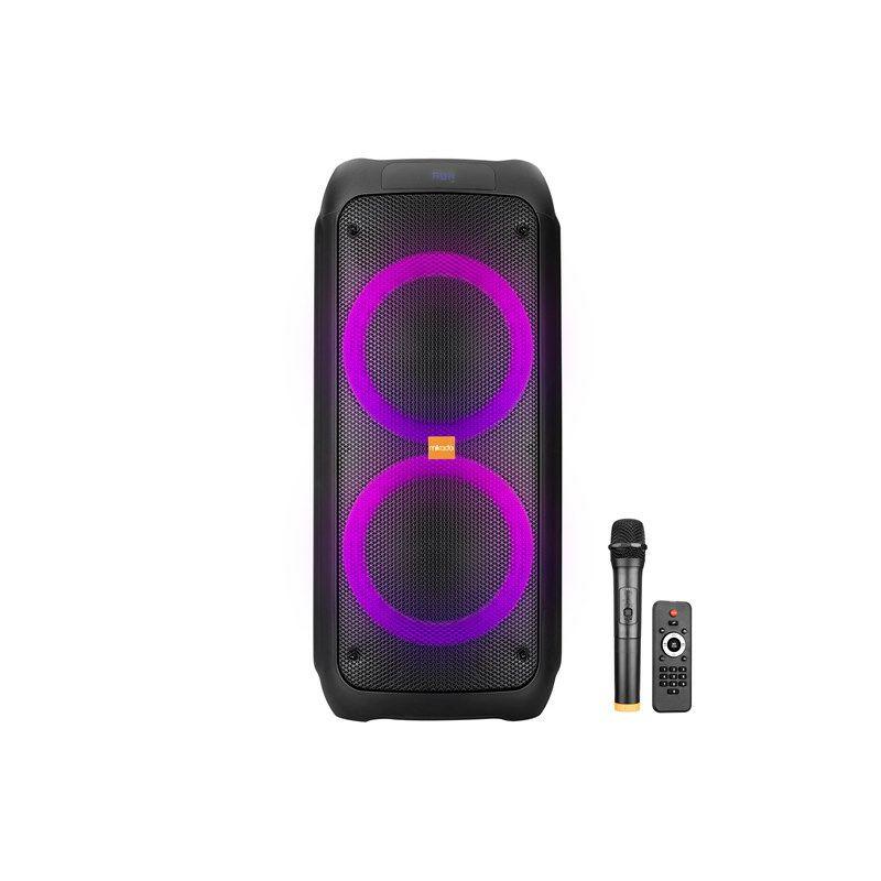 Bluetooth zvučnik, karaoke MIKADO MD-245KP, bežični mikrofon, crni