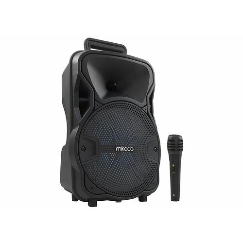 Bluetooth zvučnik, karaoke MIKADO MD-45BT, mikrofon, 3.7V, 1800mah