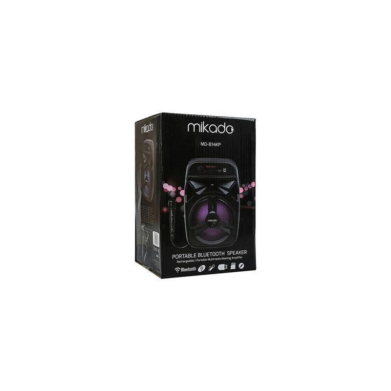Bluetooth zvučnik, karaoke MIKADO MD-814KP, mikrofon
