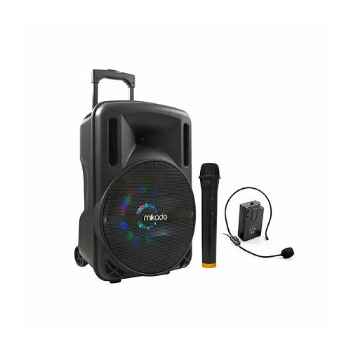 Bluetooth zvučnik, karaoke MIKADO MD-85KP, mikrofon, bežični mikrofon za glavu
