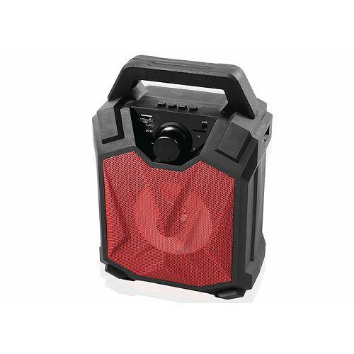 Bluetooth zvučnik, MIKADO MD-3BT X-Life, 3W, 1000mA, 3.7V, crno-crveni