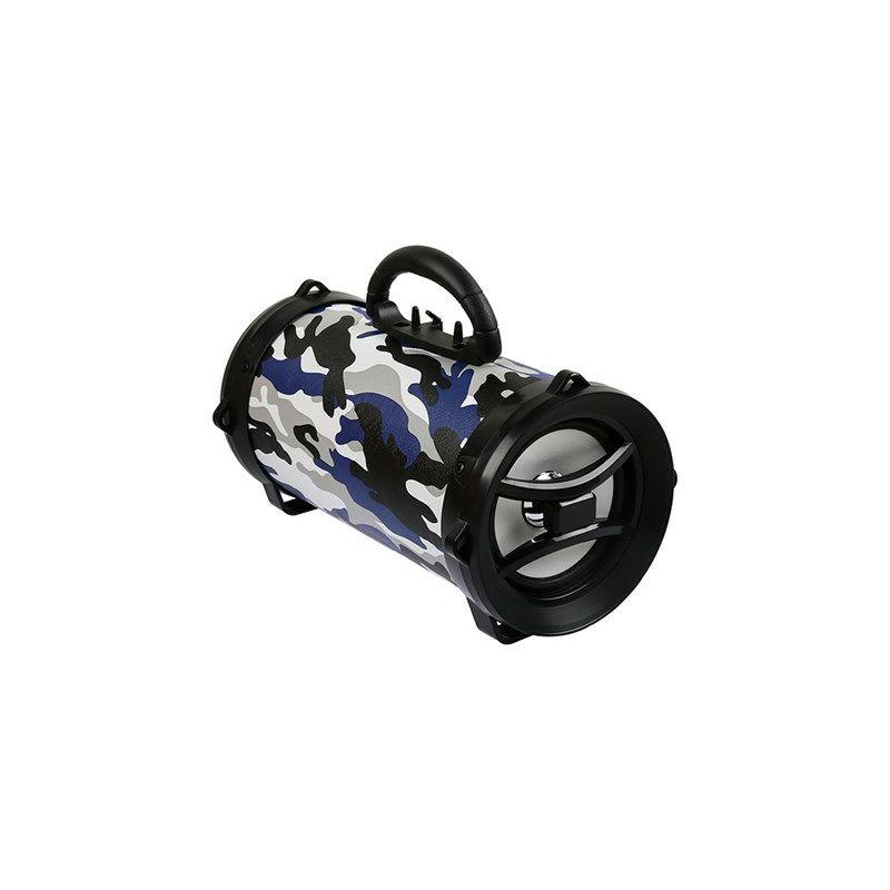 Bluetooth zvučnik, MIKADO MD-BT30, blue Camouflage