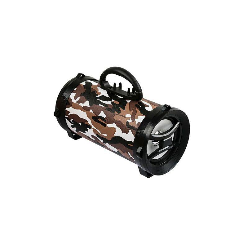 Bluetooth zvučnik, MIKADO MD-BT30, Brown Camouflage