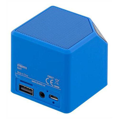 Bluetooth zvučnik, STREETZ CM687, plavi