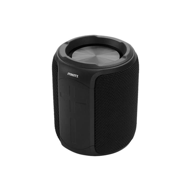 Bluetooth zvučnik, STREETZ CM765, IPX7, mikrofon, crni