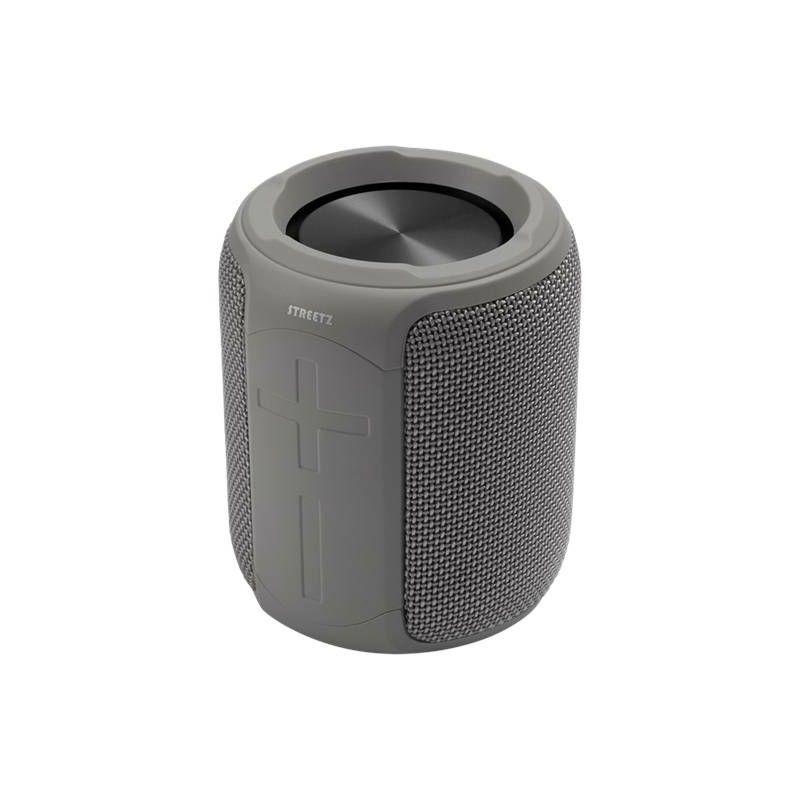 Bluetooth zvučnik, STREETZ CM766, IPX7, mikrofon, sivi