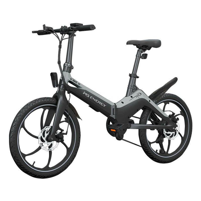 Električni bicikl MS Energy e-bike i10 sivi