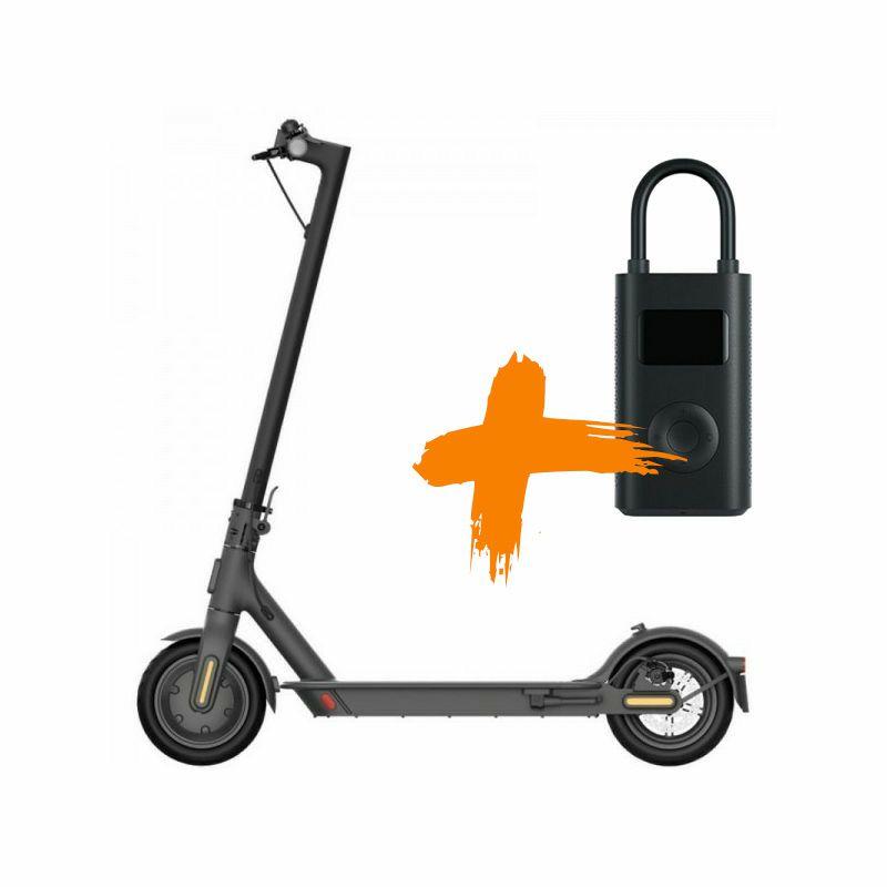 Električni romobil Xiaomi Mi Electric Scooter Essential+Mi Portable Air Pump
