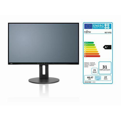 Monitor Fujitsu B27-9 TS DP, HDMI, VGA, 4x USB3.1, QHD