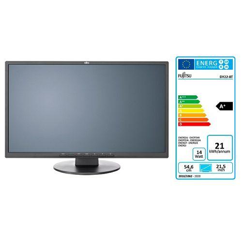 Monitor Fujitsu E22-8 TS Pro, DP, DVI-D, VGA, tilt, zvu