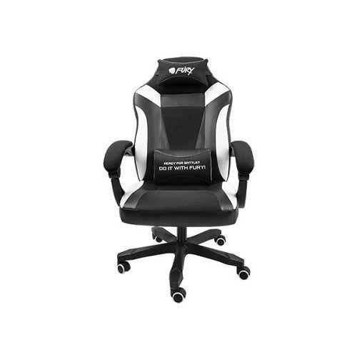 Gaming stolica Fury Avenger M+, crna/bijela