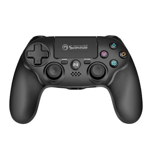 Gamepad MARVO Scorpion GT-64, bežični, za PC/PS4, crni