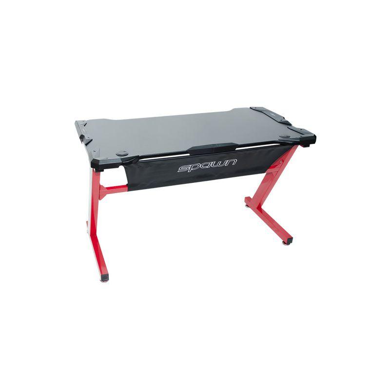 Gaming stol Spawn Horz 2, crno-crveni
