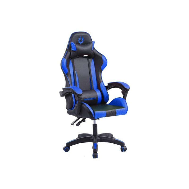 Gaming stolica FIREBIRD Gorgon S, nosivost 80kg, crno-plava