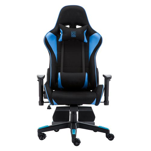 Gaming stolica LC-Power LC-GC-702BB-FF, crno/plava