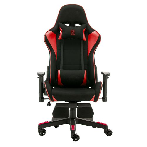 Gaming stolica LC-Power LC-GC-702BR-FF, crno/crvena