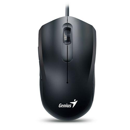 Genius DX-170, ergonomski miš, USB, 1000dpi, crni