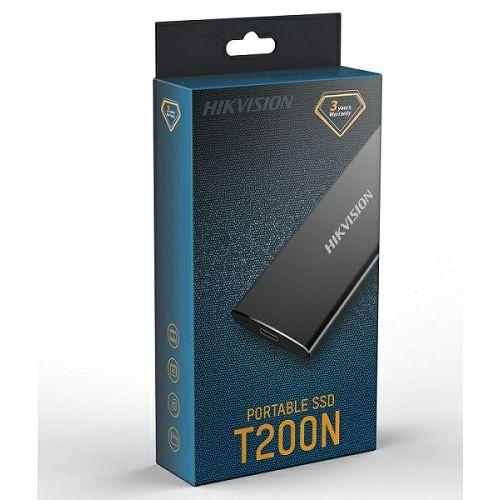 Hikvision ESSD T200N 512GB USB3.0 Crni