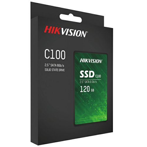 "Hikvision C100 SSD 120GB, 2,5"", R550/W420"