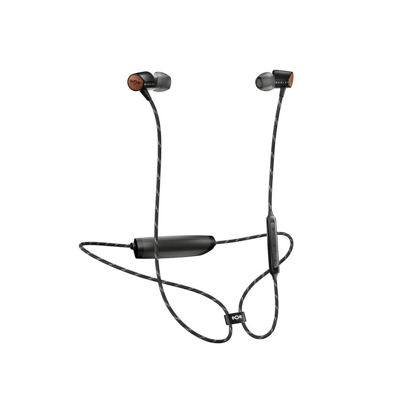 HOUSE OF MARLEY UPLIFT 2 BLUETOOTH SIGNATURE BLACK IN-EAR SLUŠALICE