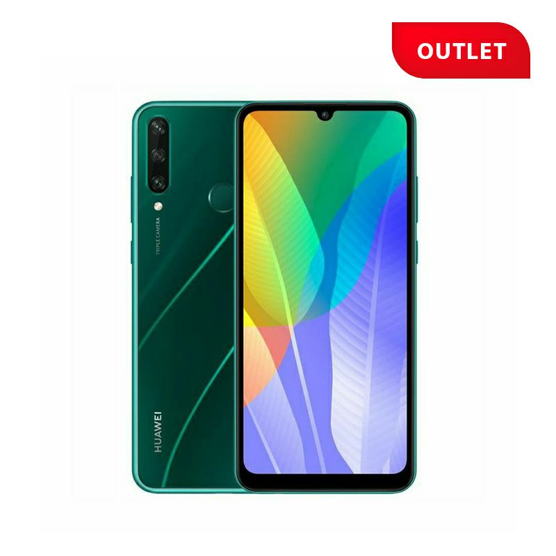 Huawei Y6p, Emerald Green (outlet uređaj)