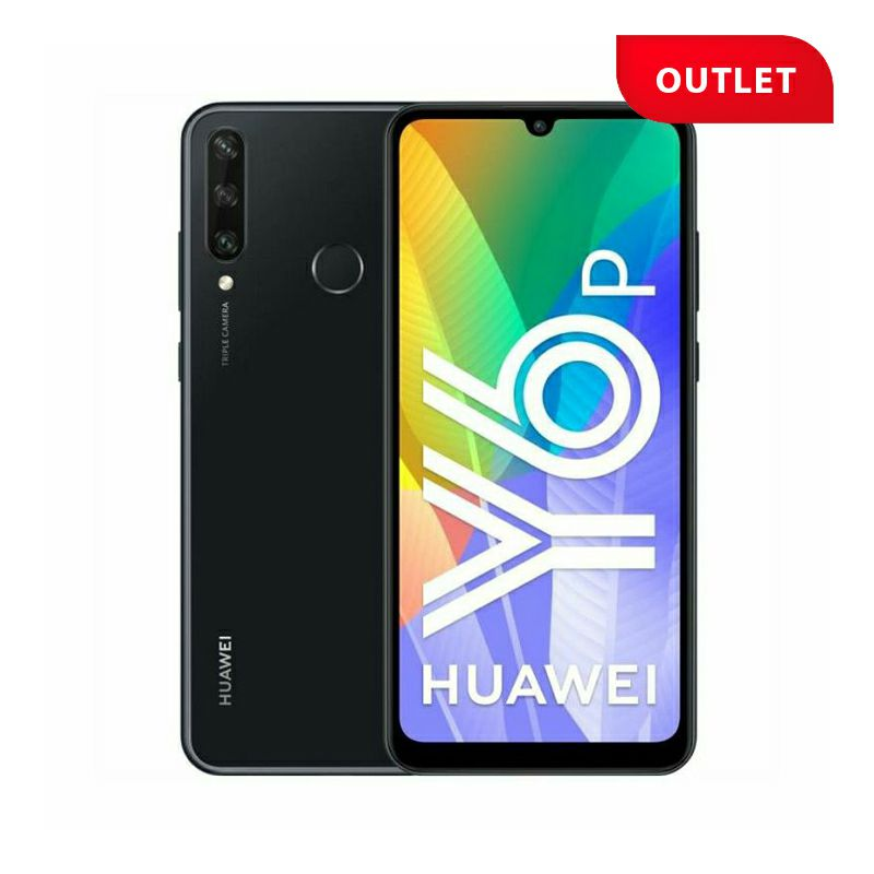 Huawei Y6p, Midnight Black (outlet uređaj)