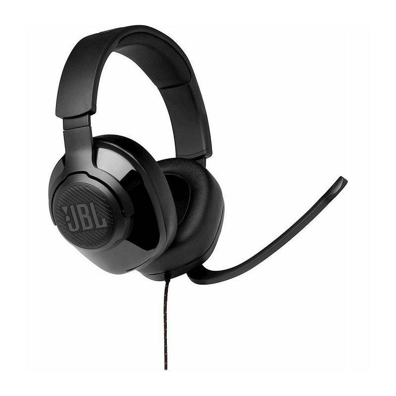 JBL Quantum 200 naglavne igraće slušalice s mikrofonom, 3.5mm, crne
