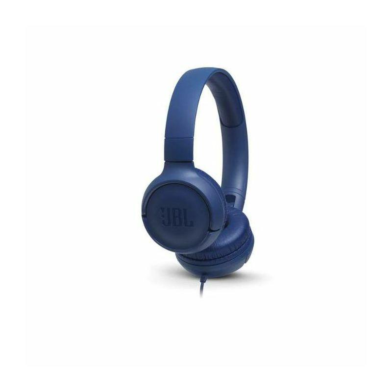 JBL Tune 500 naglavne slušalice s mikrofonom, plave