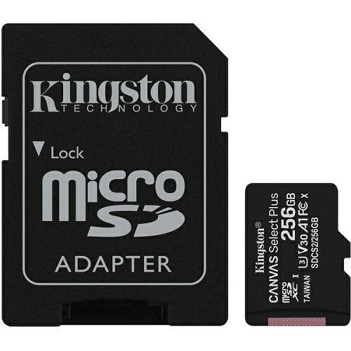 Kingston microSDXC, Select plus, Class10, 256GB
