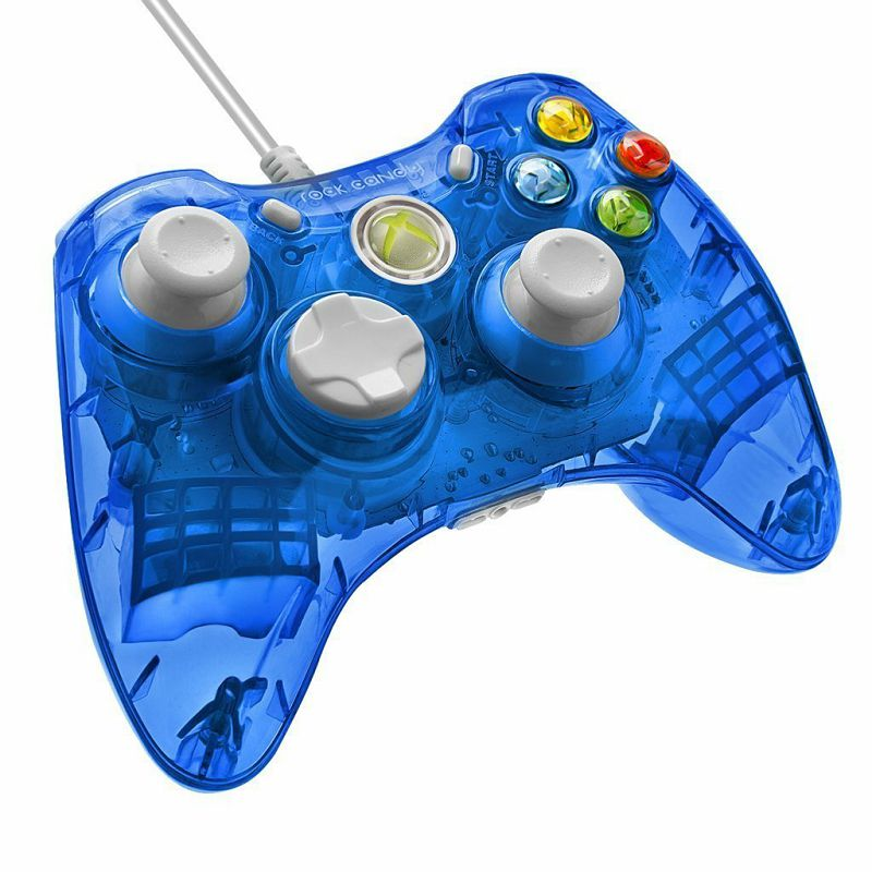 Kontroler Pdp X360 Rock Candy Wired Controller Blueberry Boom