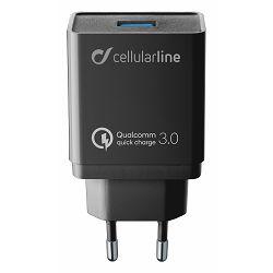 Kućni punjač Huawei Qualcomm 3A/18W Cellularline