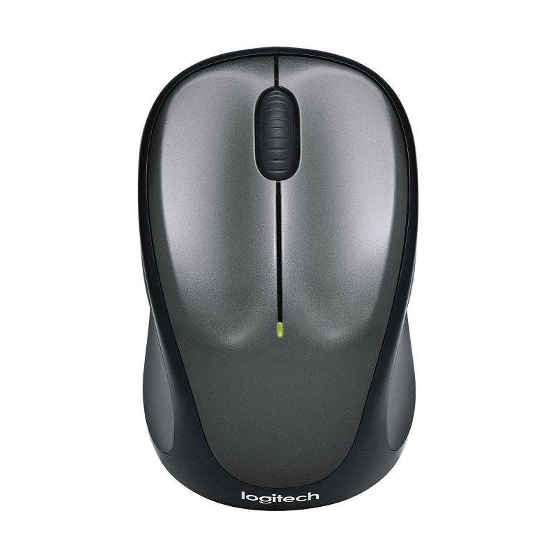 Logitech M235, bežični miš, siv