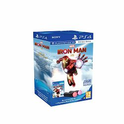 Marvel's Iron Man VR/PS Move Twin Pack bundle PS4