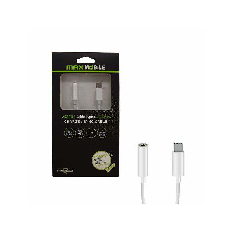 MAXMOBILE ADAPTER TYPE C - 3.5mm (Ž) 1m,analogni