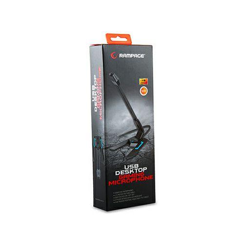 Mikrofon RAMPAGE SN-RM7X s LED osvjetljenjem, desktop crni