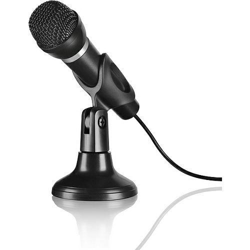 Mikrofon SPEEDLINK Capo, stolni i ručni sistem, crni
