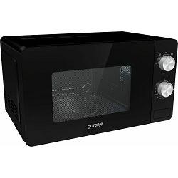 Mikrovalna pećnica Gorenje MO20E1B, 20 litara, 800 W, essential, aqua Clean, crna