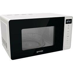 Mikrovalna pećnica Gorenje MO20S4W, 20 litara, 800 W, superior, aqua Clean, grill, digitalna, bijela