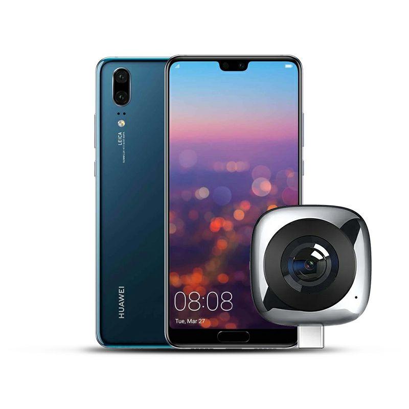 "Mobitel Huawei P20, 5.8"", Dual SIM, 4GB, 128GB, Android 9, plavi + Huawei 360° kamera"