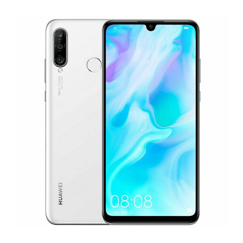 "Mobitel Huawei P30 Lite, 6.15"", Dual SIM, 4GB, 128GB, Android 9, bijeli"