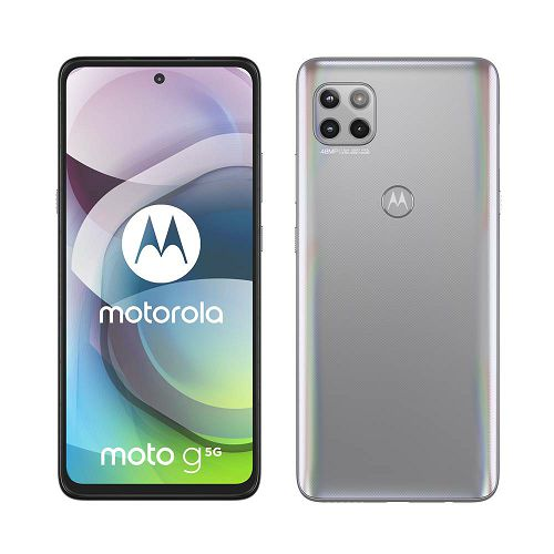 """Mobitel Motorola G 5G, 6.7"""", Dual SIM, 6GB, 128GB, Android 10, Frosted Silver"""