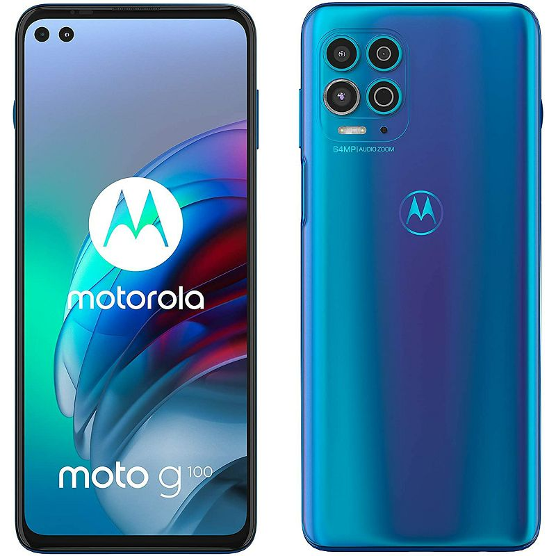 Mobitel Motorola G100 XT2125-1 PL BLU, 6,7'', 8GB, 128GB Dual SIM, Iridescent Ocean